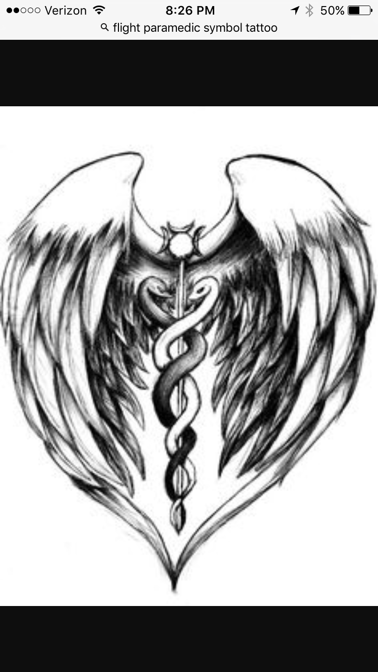 Pin by angela kelly on kyle pinterest ems tattoos tattoo and tattoo could be perfect for hospice caudeus with wings ie angels in biocorpaavc Gallery