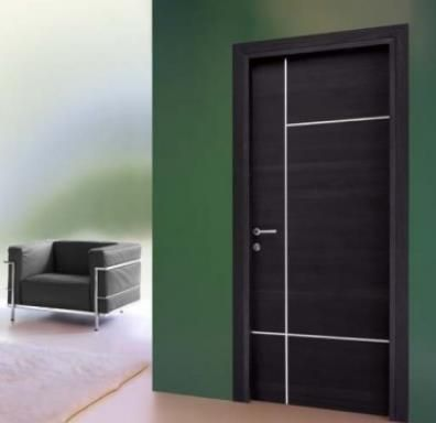 Pin en puertas y dise os for Puertas de madera interiores modernas