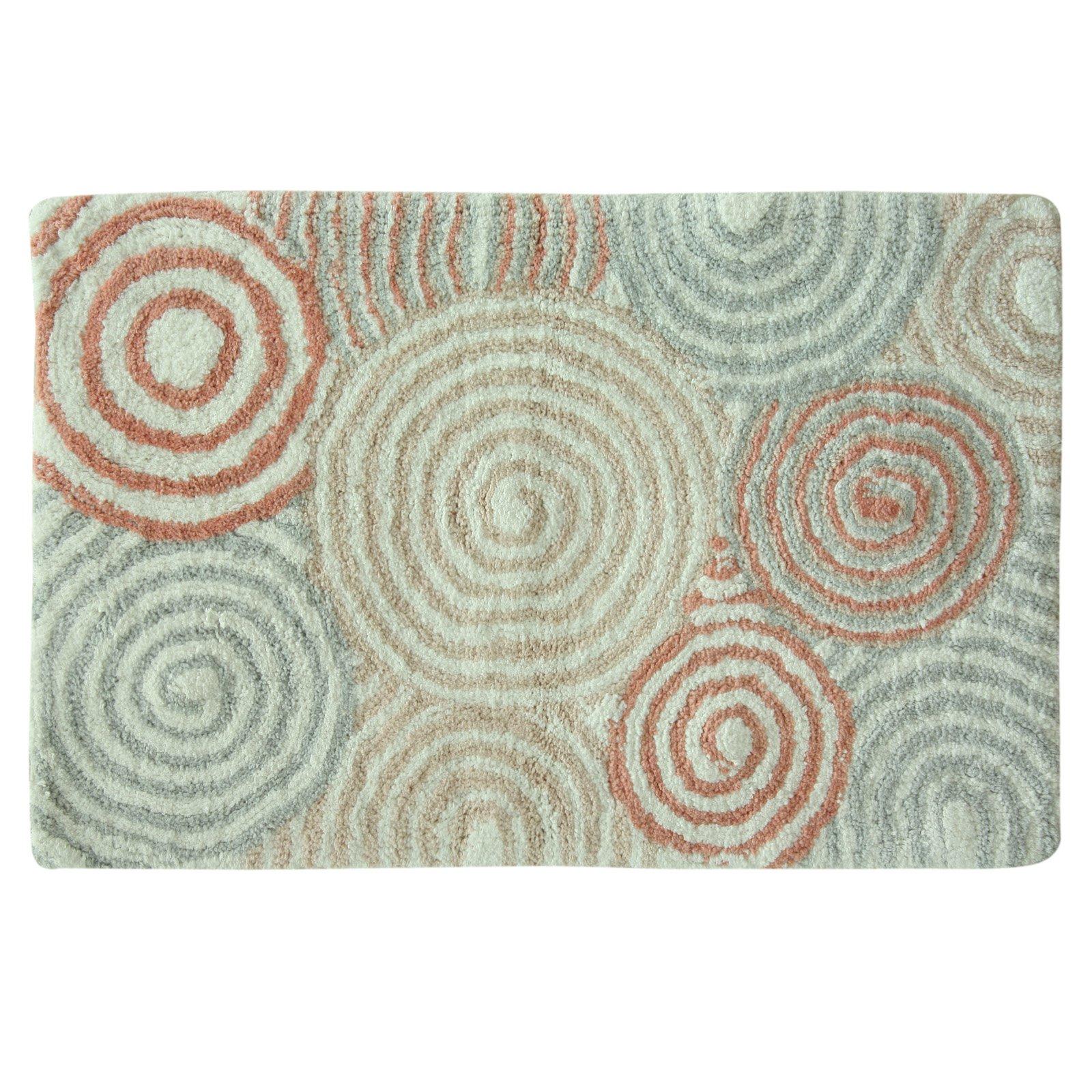 Bacova Galax Bath Rug Pink Rugs Bath Linens Tapestry