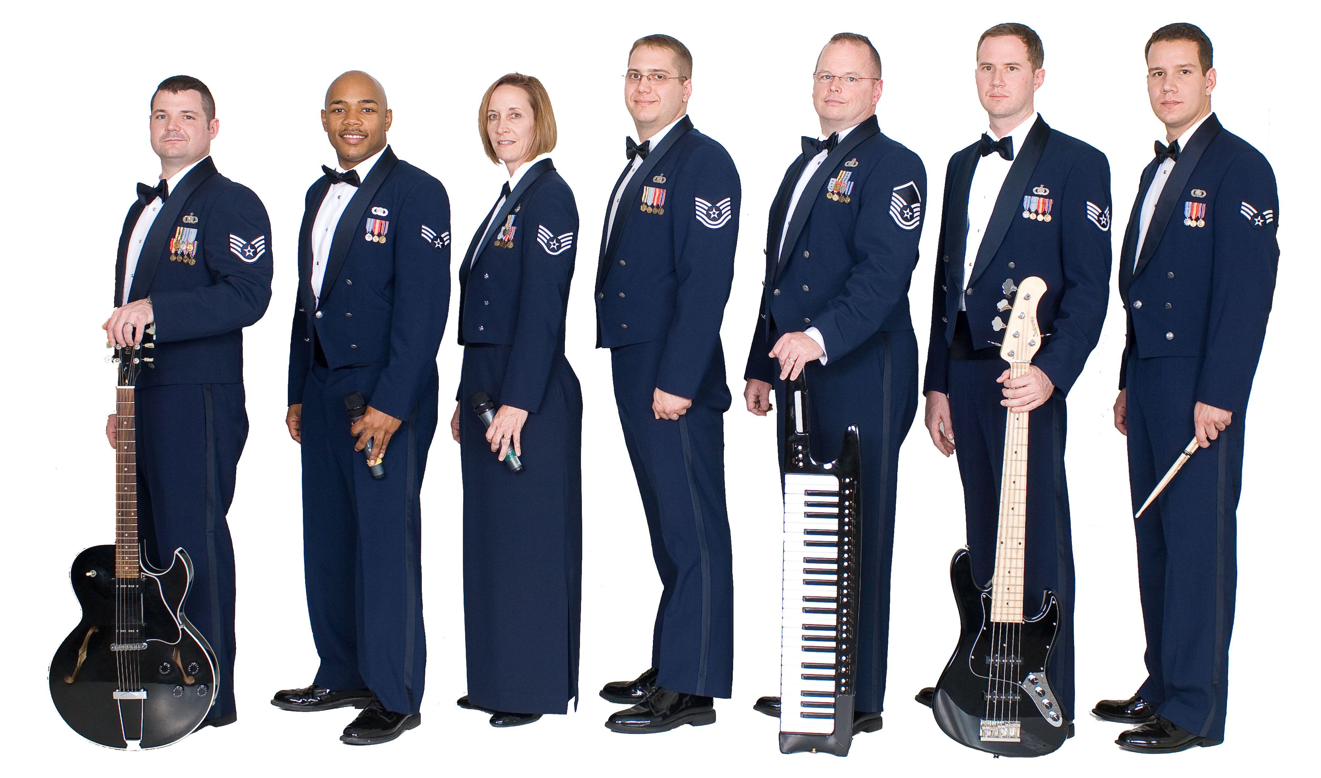 Pictures air force uniform dress