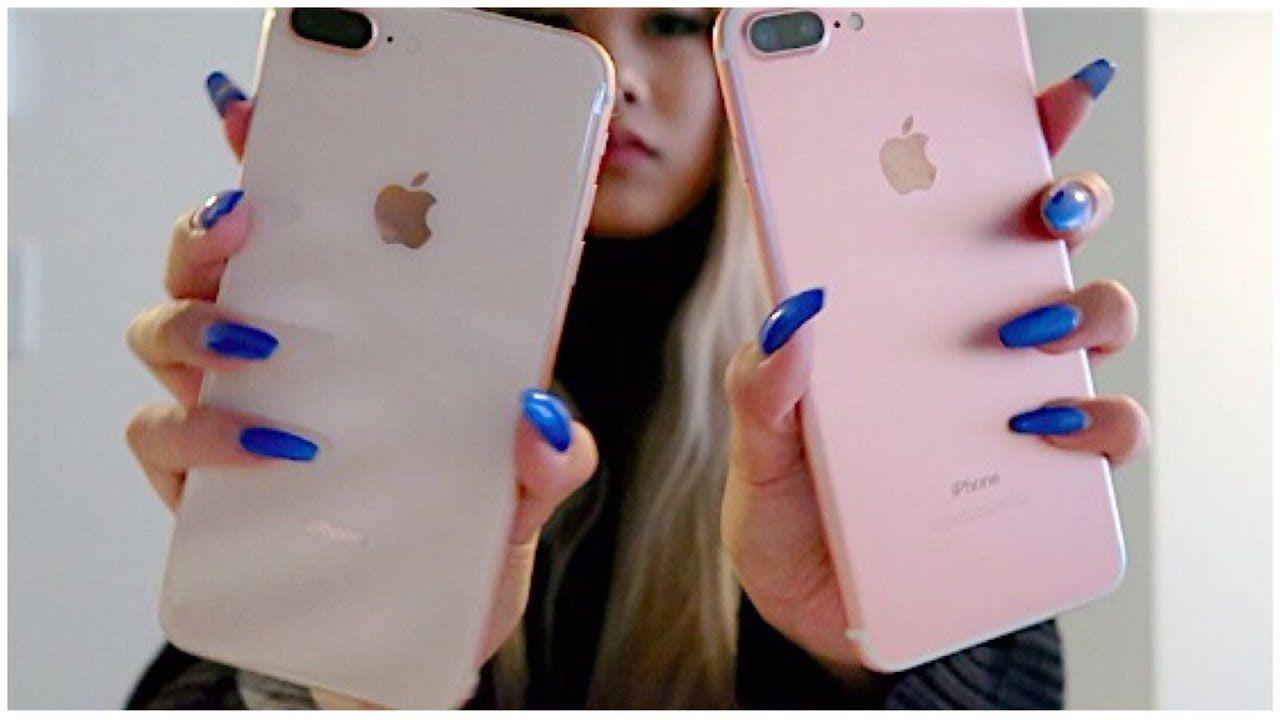 Iphone 8 Plus Gold Unboxing Iphone Iphone 8 Plus Apple Cases