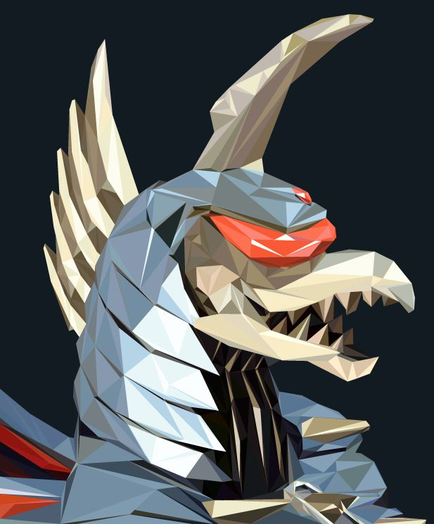 Pin By Bluedragon On Frag It Gigan You Get To Board Now