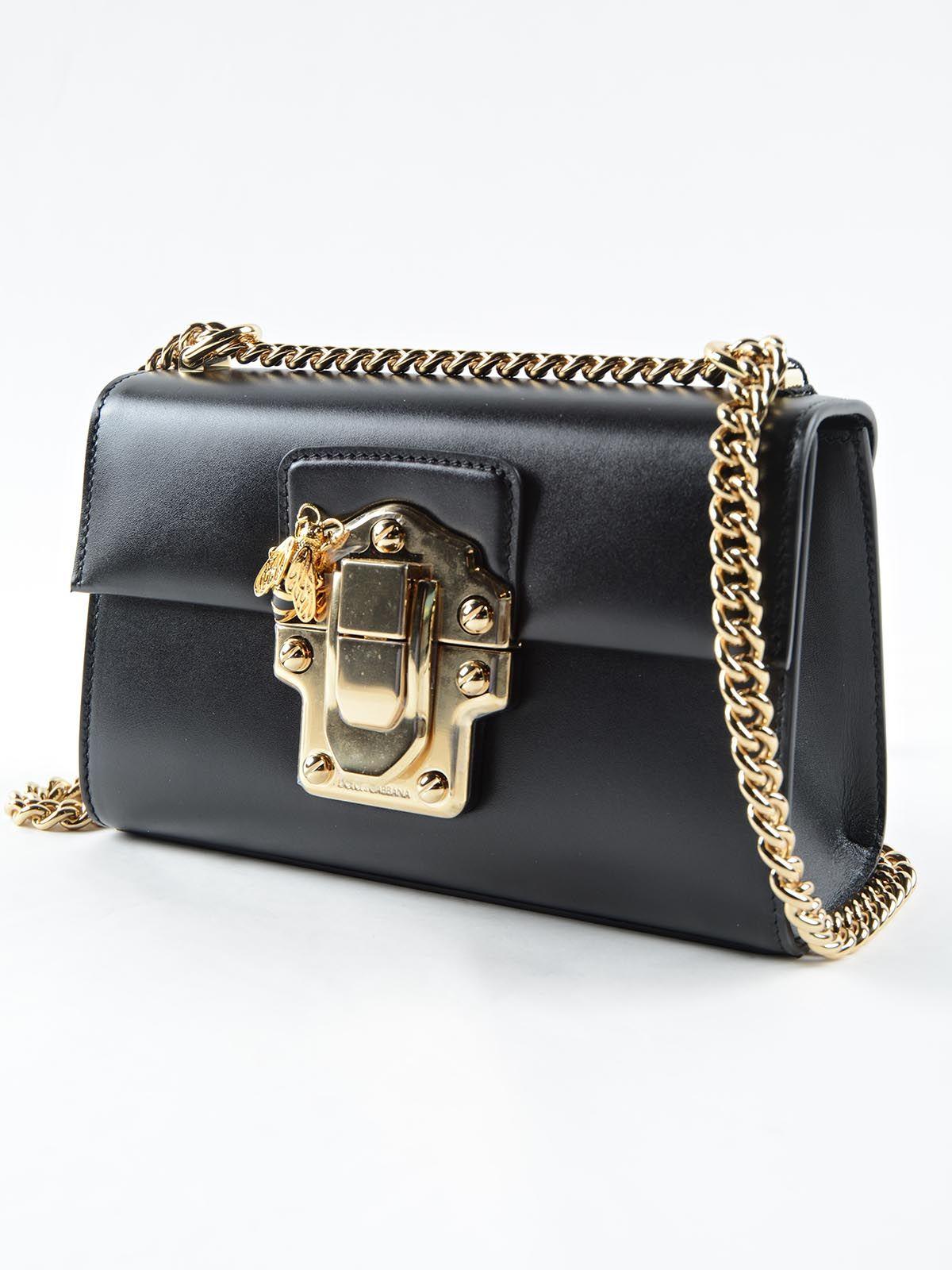 3a214b349b14 Calf Leather · DOLCE GABBANA.-BORSA A SPALLA