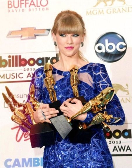 Taylor swift and 8 awards