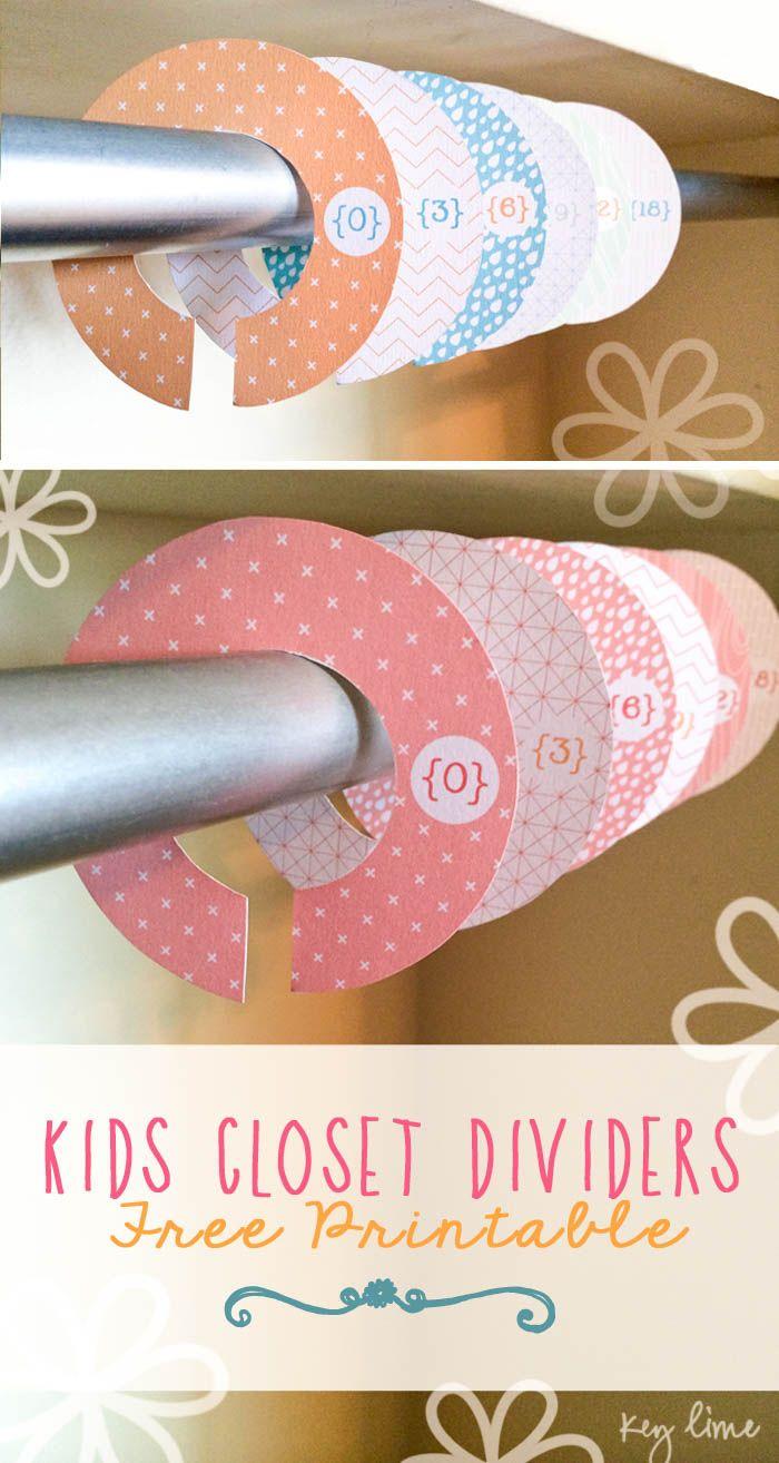 FREE-Kids-Closet-Hanger-Dividers-Printables-on-lilluna.com-.jpg 700×1,314 píxeles