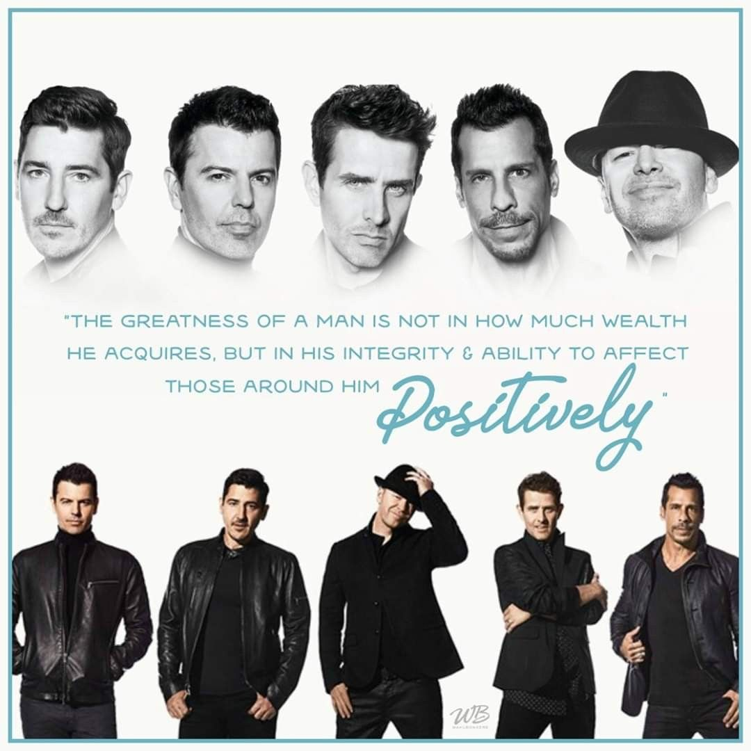 Pin by Alicia on NKOTB in 2020 New kids on the block