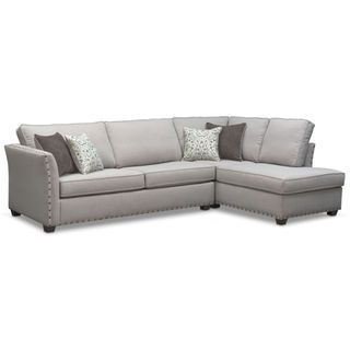 Astonishing Mckenna 2 Piece Sectional With Chaise In 2019 Couch Goals Dailytribune Chair Design For Home Dailytribuneorg