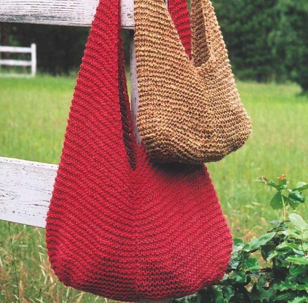 Shoulder Bag | Knitted bags, Markers and Yarns