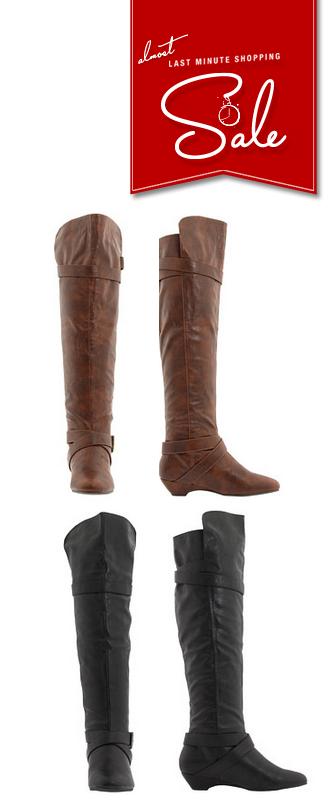6pm || MADDEN GIRL - $24 || #maddengirl #boots #greenmonday
