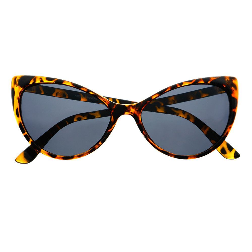 Polarized Anti Glare Large Designer Fashion Cat Eye Sunglasses C1480