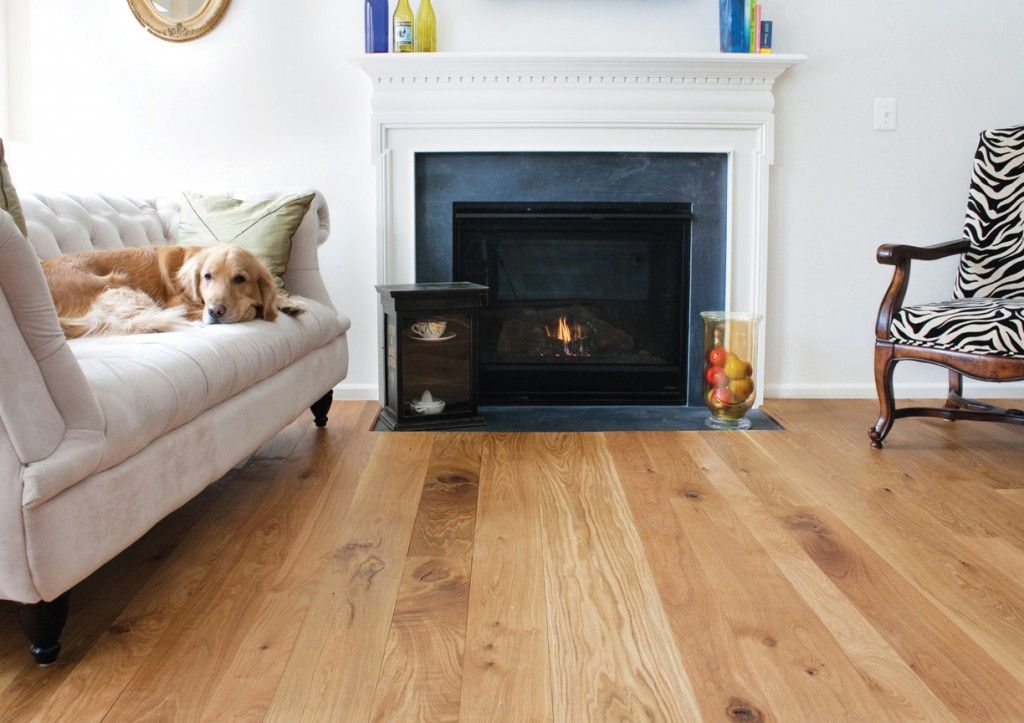Modern White Oak Floors Natural Finish For Warm Living Room Interior With White White Oak Hardwood Floors Wood Floor Design Solid Hardwood Floors