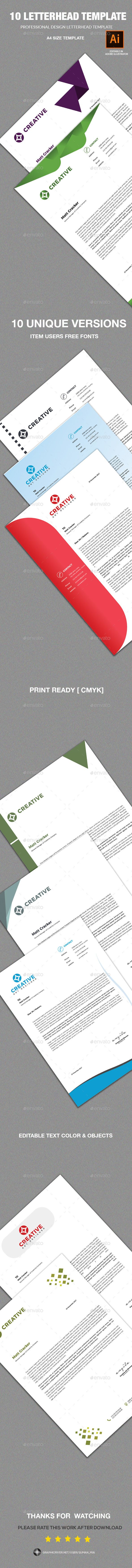 Letterhead template letterhead template template and letterhead letterhead template spiritdancerdesigns Image collections