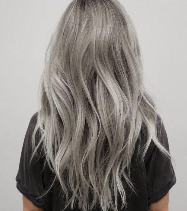 Le gris smoky LA coloration tendance de la rentrée 2016