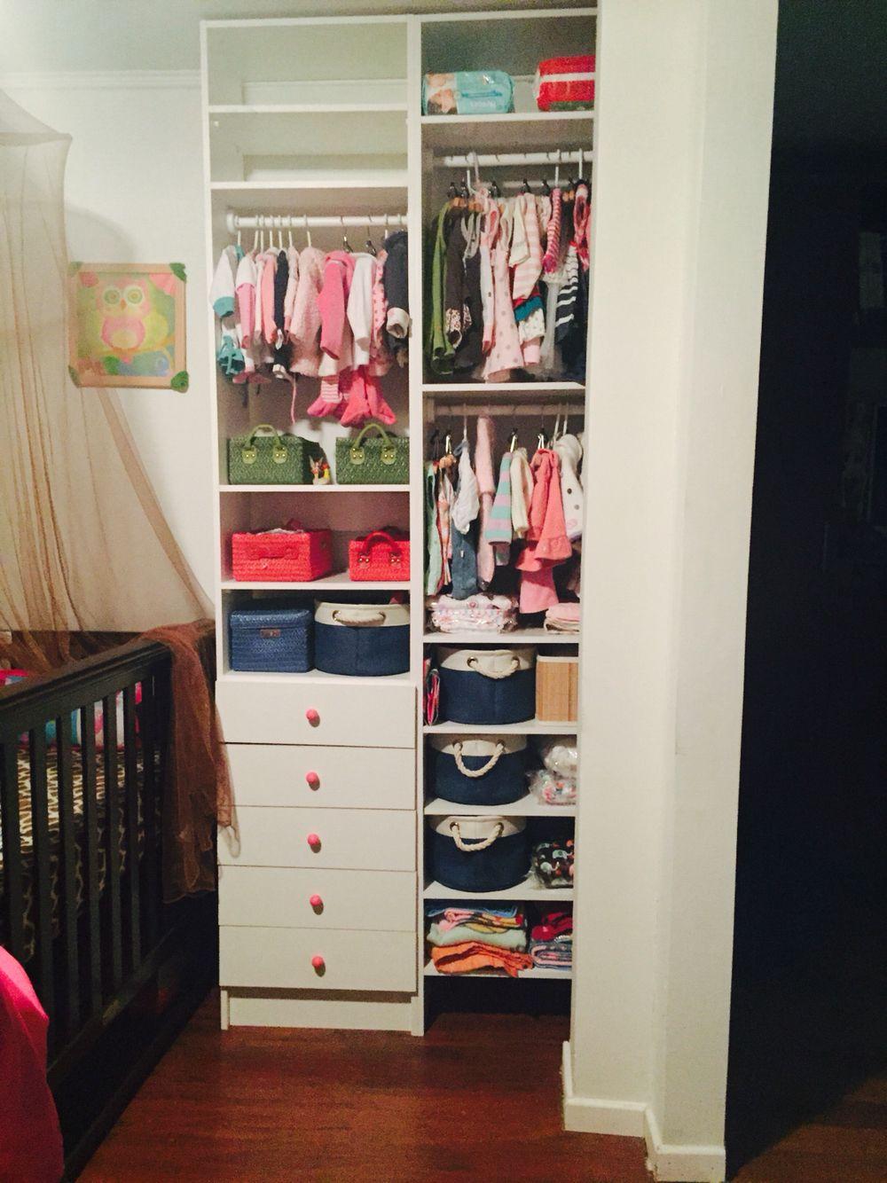 Mueble organizador para la ropa del beb  Cuarto Vale