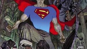O primeiro encontro entre o Homem-Morcego e o Homem de Aço no preview de Batman/Superman #1