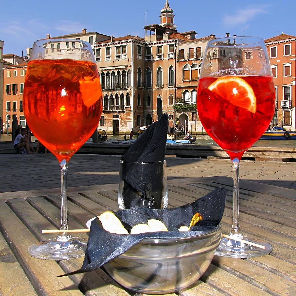 Spritz Veneziano Spritz Aperol Sweet Drinks