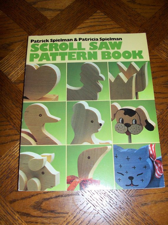 Patterns Crafts Scroll Saw PATTERN BOOK Over 40 By Primsgonewild Best Scroll Saw Pattern Books