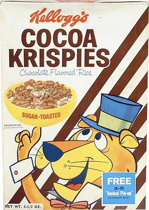 Image result for cocoa krispies snagglepuss