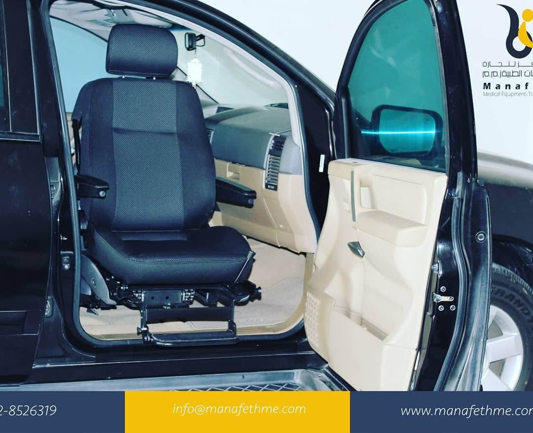 Transferring from a wheelchair to a car seat can be