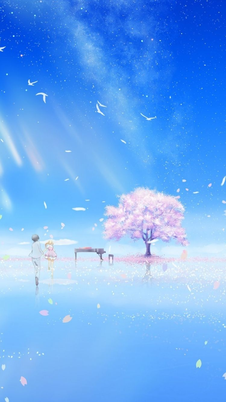 Iphone 6 wallpaper tumblr anime - Your Lie In April Apple Iphone 6 750x1334 19 Wallpapers