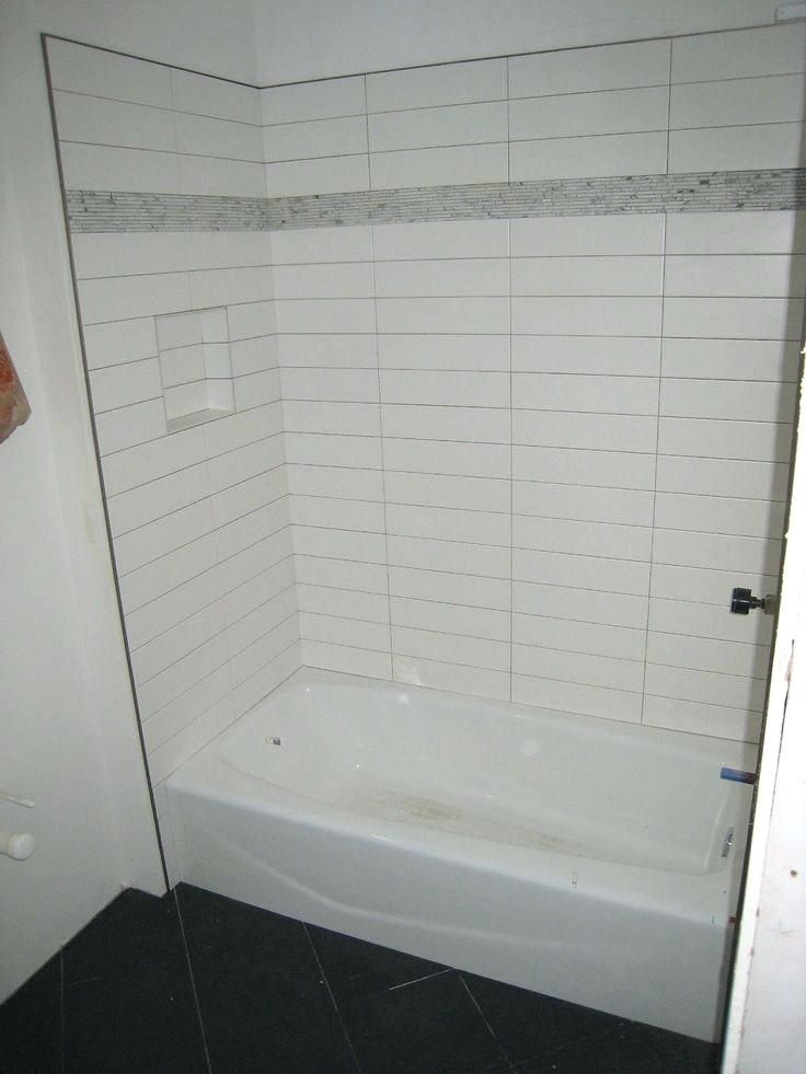 Tile Schluter Strip Subway Tile Shower Decent With Strips