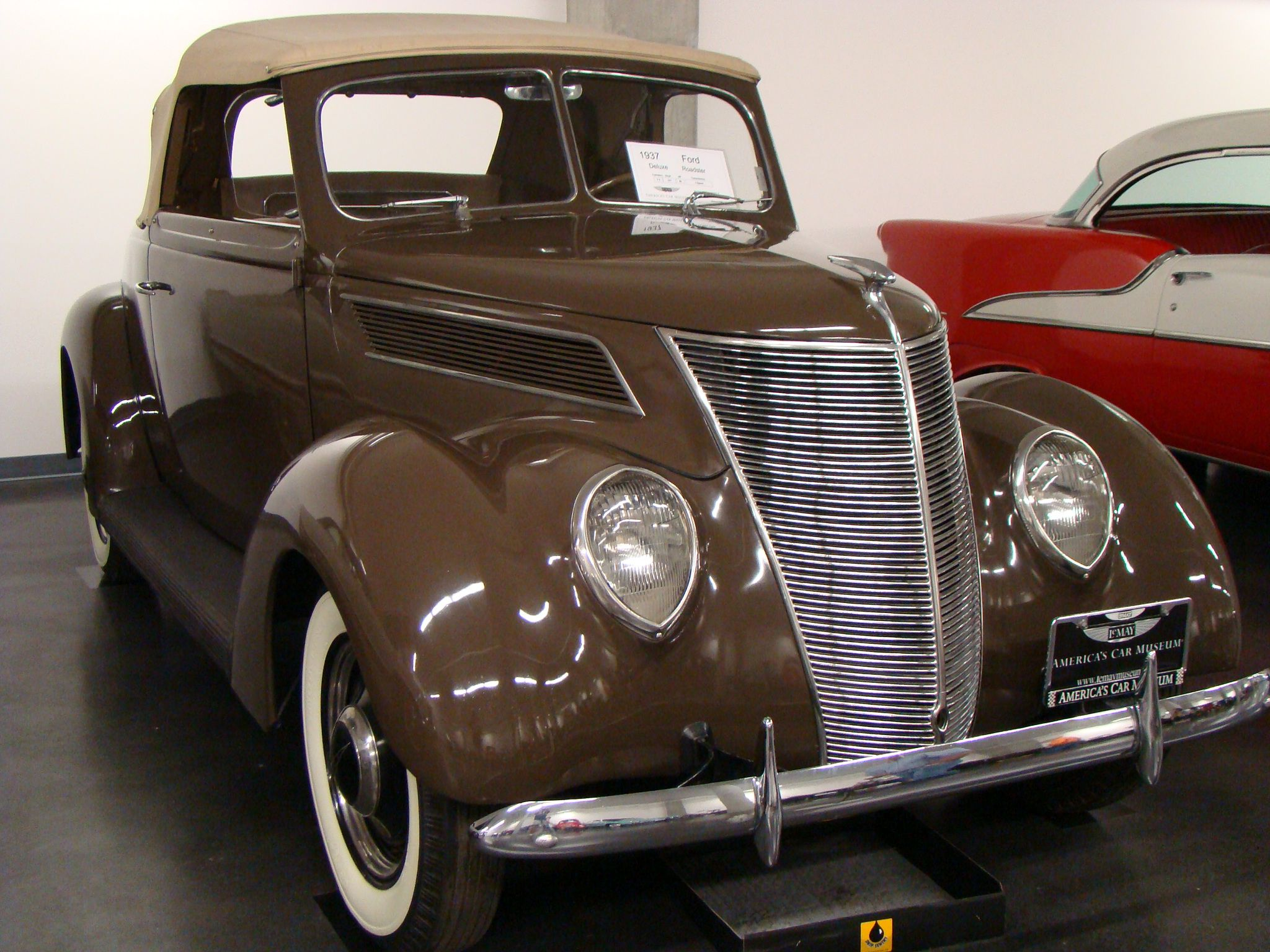 1937 ford deluxe roadster brought to you by the car