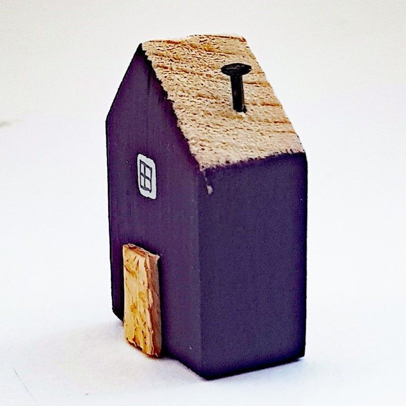 Photo of Tiny House Wooden House for Decoration Tiny Gifts