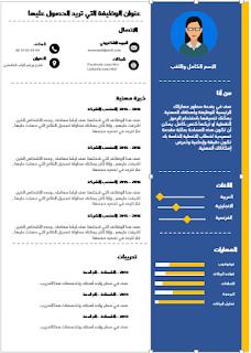 تحميل سيرة ذاتية باللغة العربية جاهزة Curriculum Vitae Curriculum Wordpress