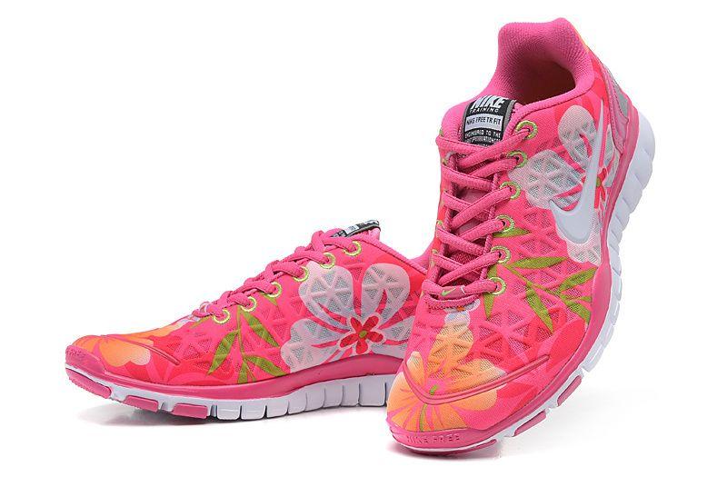 Nike Free Tr Ajustement 2 Schwarz Rose