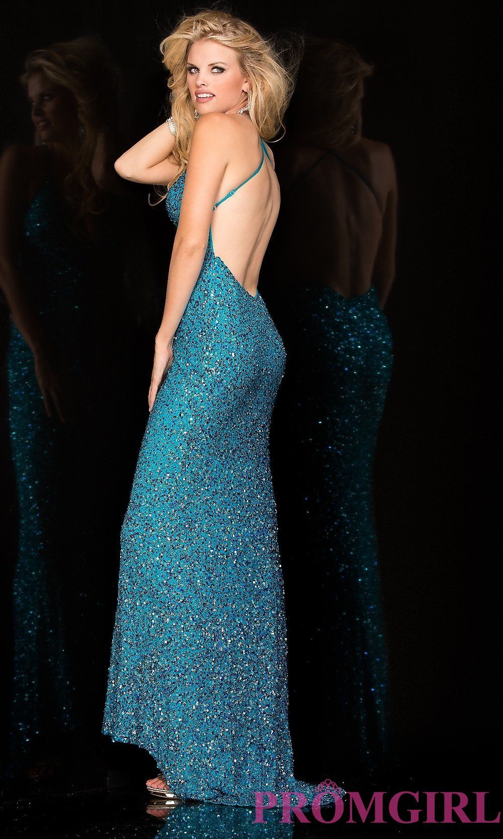 Long Prom Dress Detail Image 1 | P | Pinterest | Sequins, Long prom ...