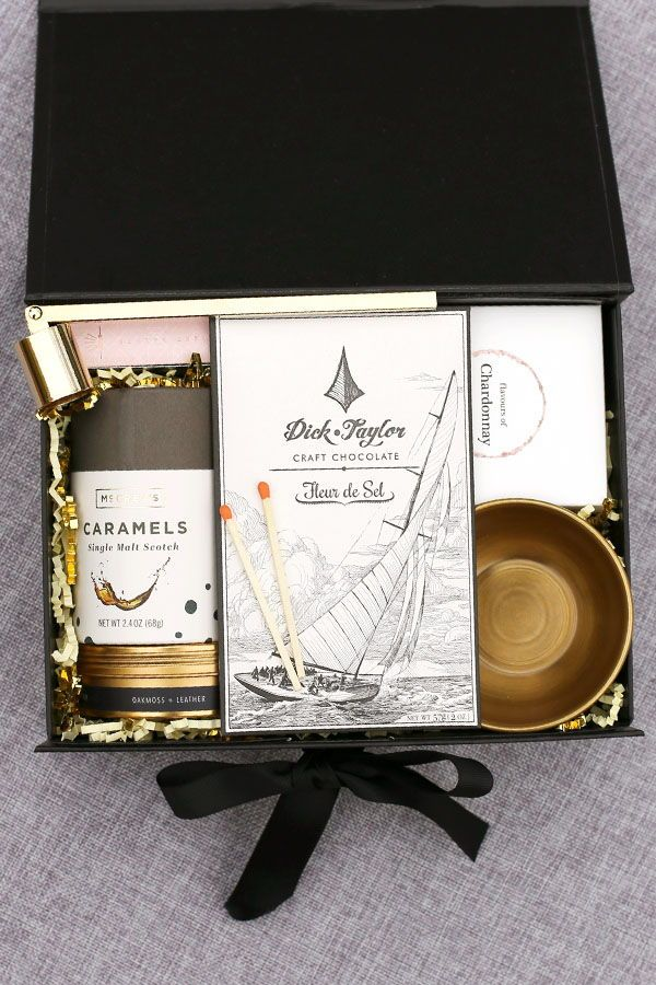 Cheers to the New Year Gift Box by Pumeli. Perfect for ...