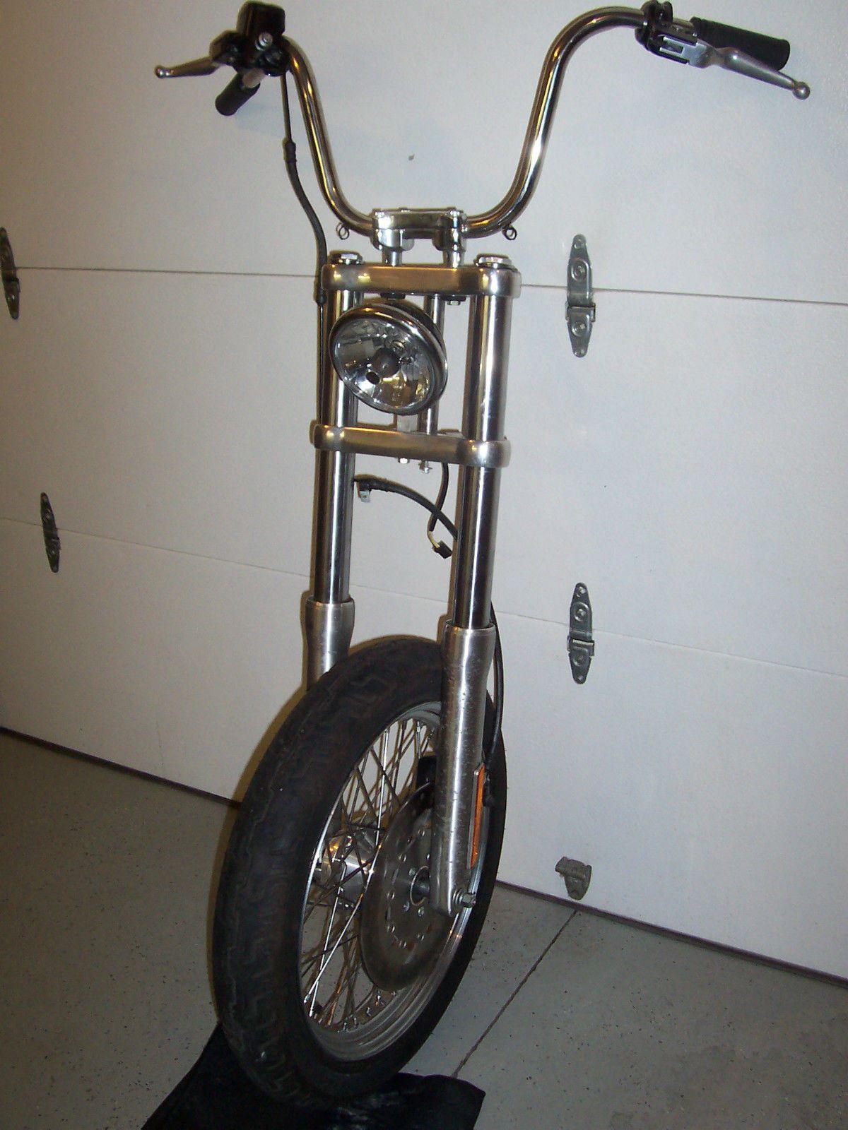 harley dyna street bob super glide front end assembly 2007 49mm