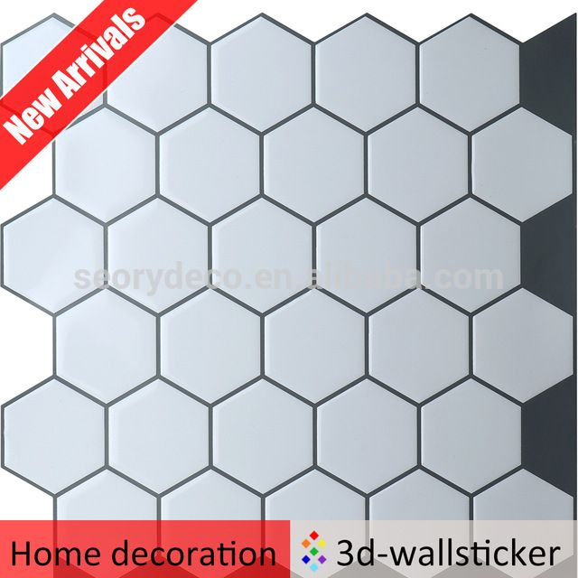 Stick On Tile Decorations Simple Custom Desige Self Adhesive Pvc Wallpaper Self Adhesive Wall Tile Decorating Inspiration