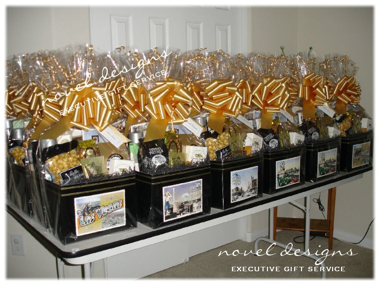 Las Vegas Corporate Conference Convention Event Gift Baskets