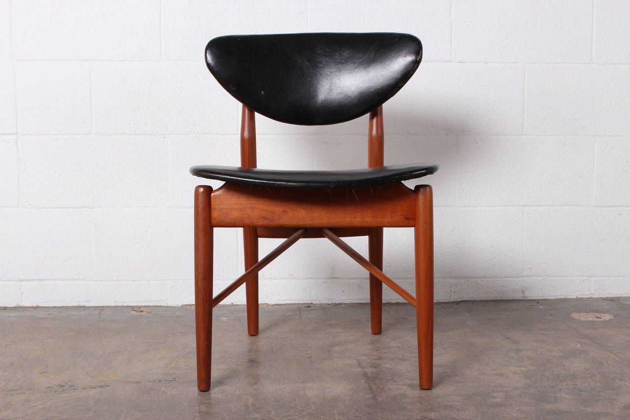 Eight Nv108 Dining Chairs, 1950s.