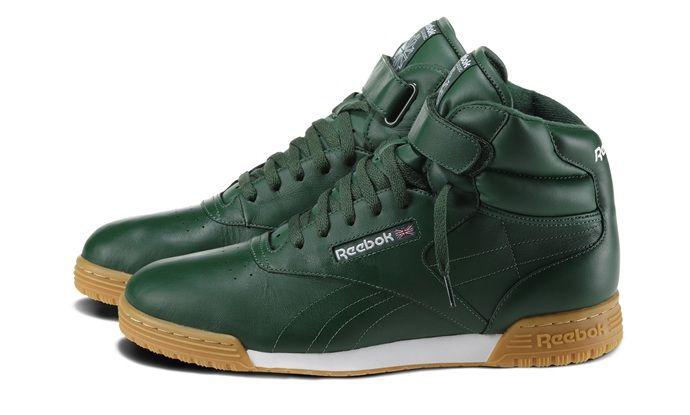 Green Ex o Fit Hi Reebok | Zapatos deportivos, Tenis, Ropa