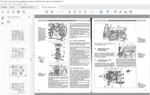1994 2001 Citroen Evasion Service Repair Manual German Language In 2020 Repair Manuals Citroen Repair
