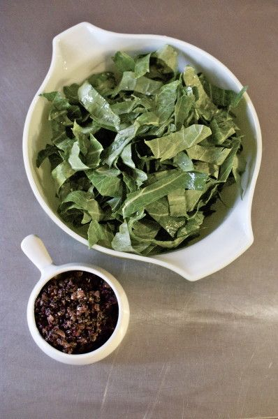 fig olive relish. What would you use in place of walnuts?