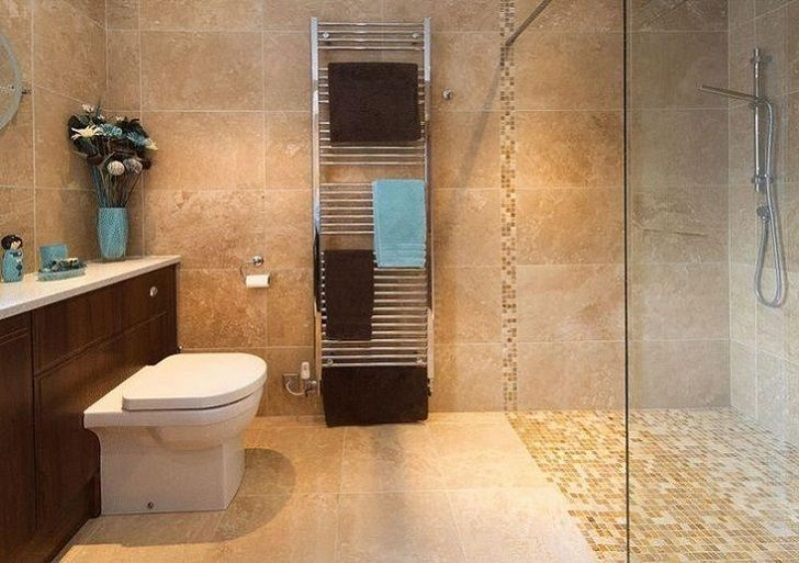 40 Beige And Brown Bathroom Tiles Ideas And Pictures Brown