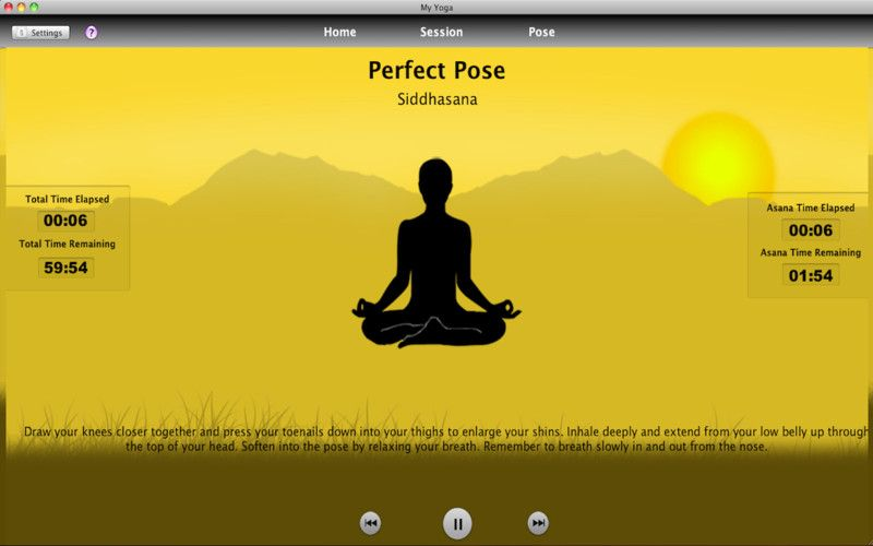 My Yoga iPhone and iPad app by Vimukti Technologies Pvt Ltd Genre