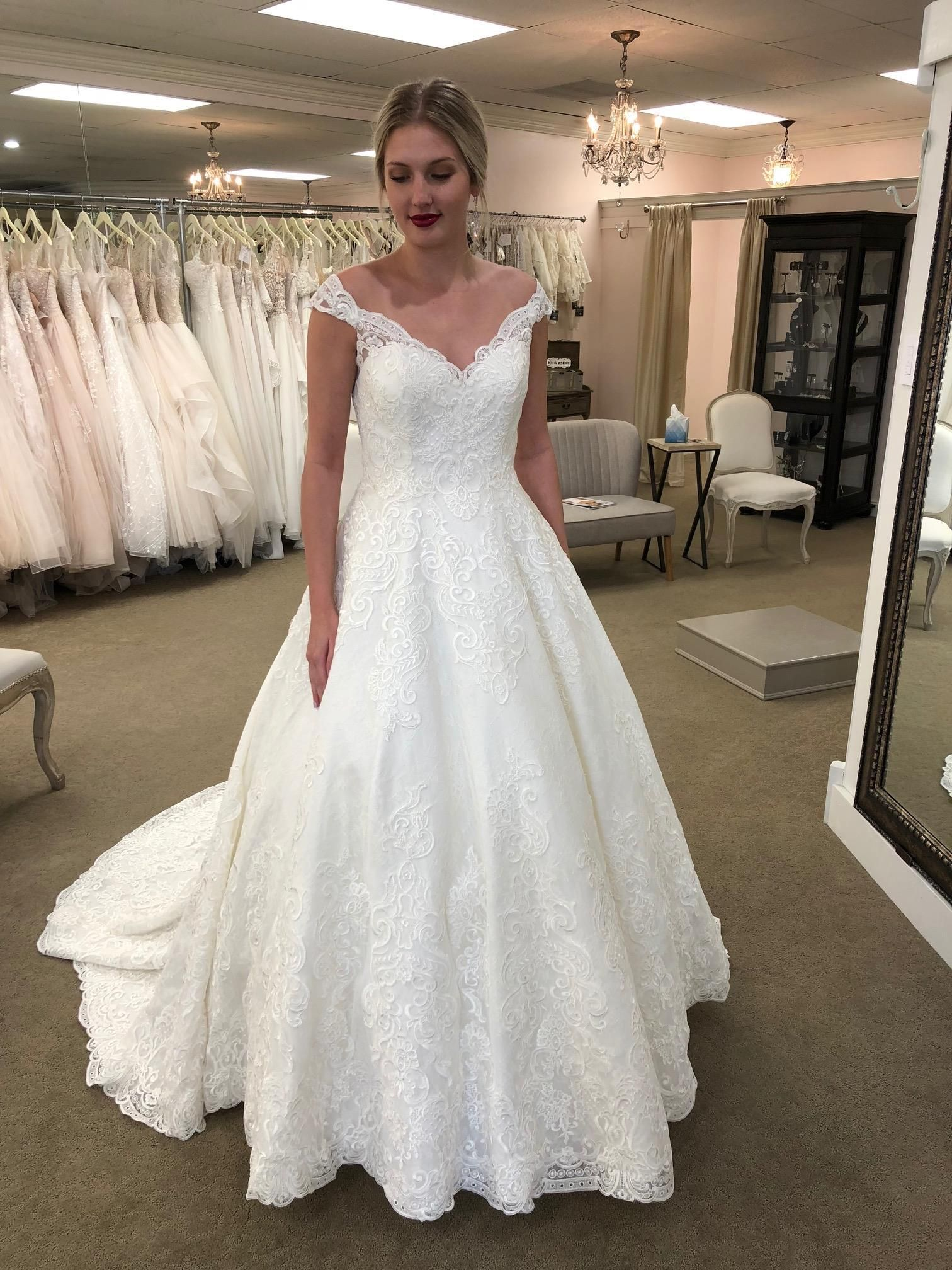 This Traditional Ballgown Is Everything Wedding Dress Lace Dresses