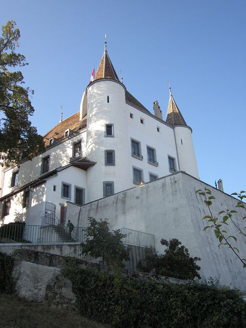 #Nyon #Switzerland I went to this castle today.