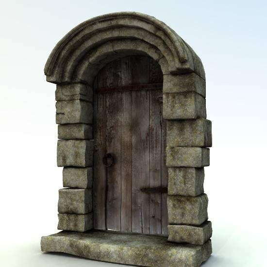 stone door - Google Search & stone door - Google Search: | décors figurines | Pinterest