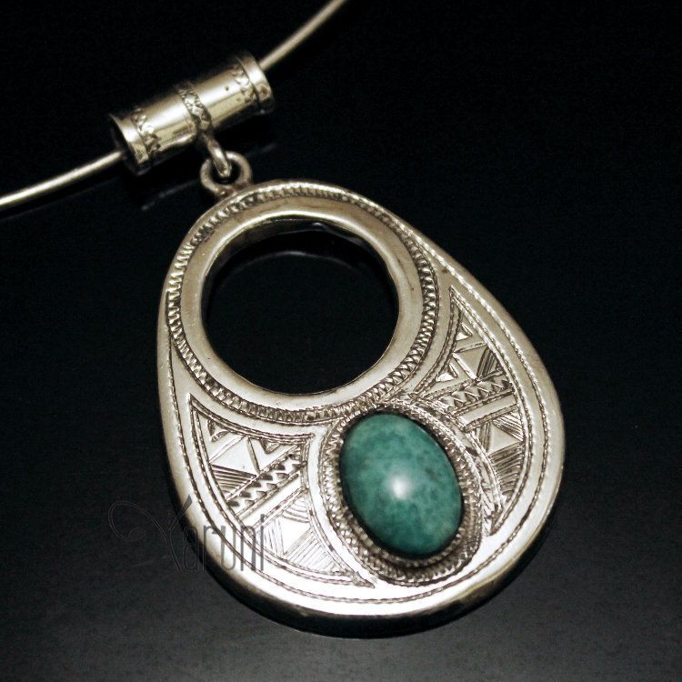 Pendentifs turquoise tibetain