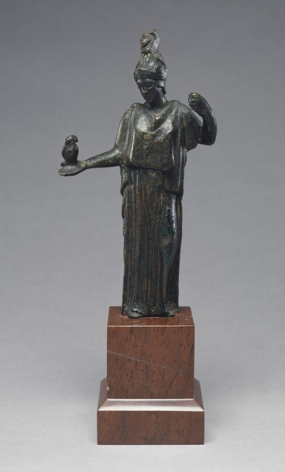 Athena with an Owl  ca. 450 BC (Classical)