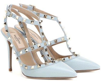 Leather pumps, Valentino rockstud heels