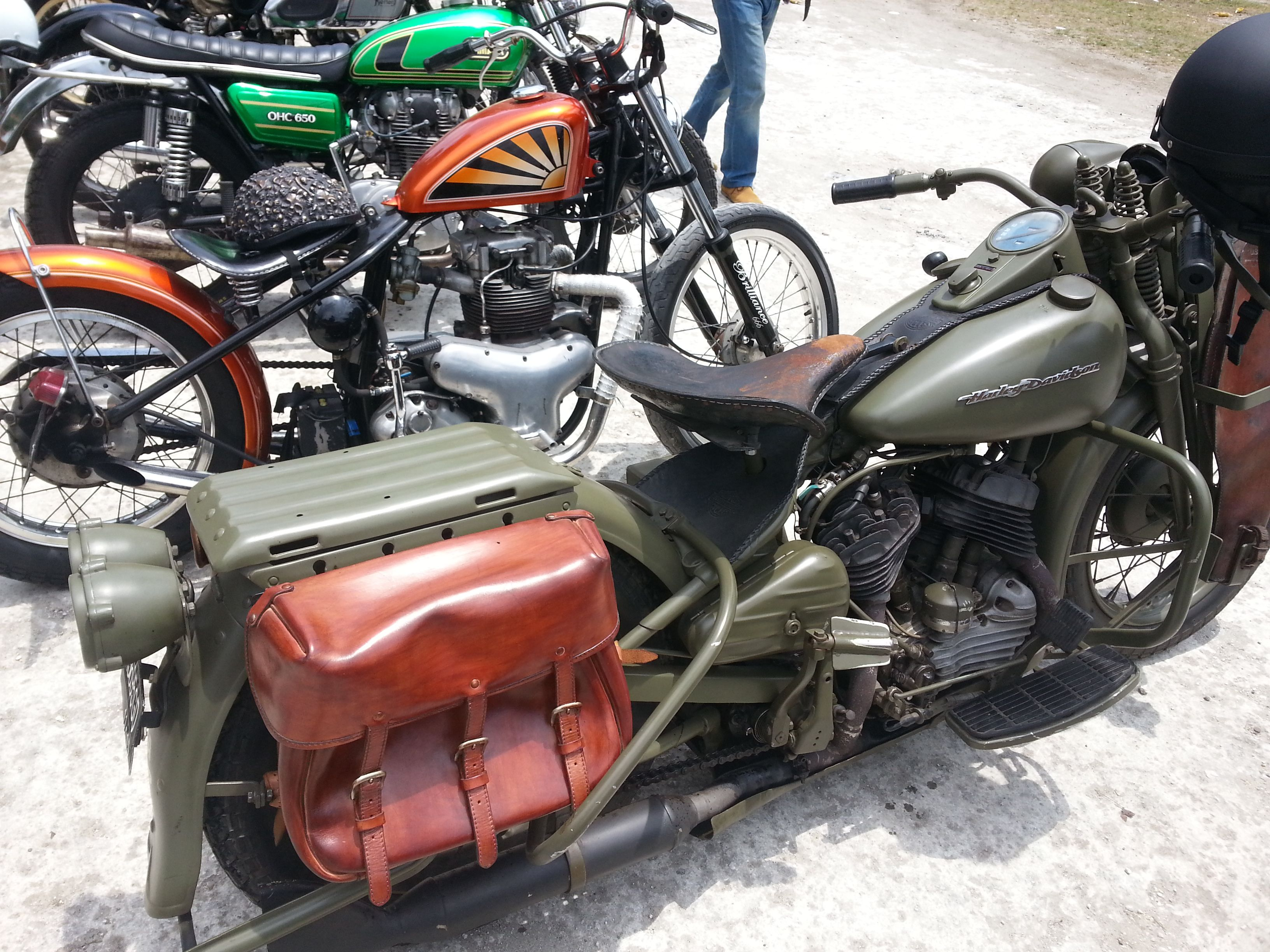 Bali Is The Heaven Of Vintage Motorcycle Enthusiast Took This