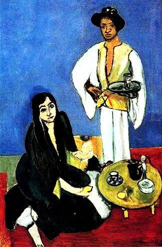 """Coffee"" 1916. Henri Matisse."