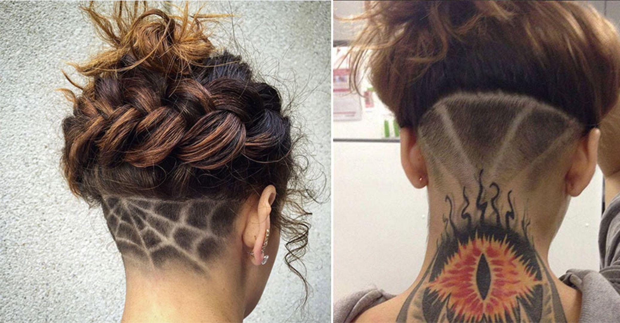 Frisuren Gruselige Undercut Trends für Halloween News Beauty