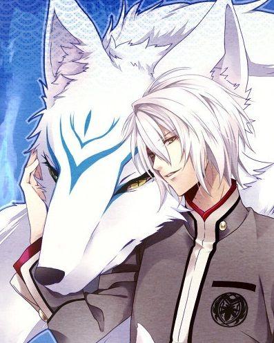 Image De Anime Anime Boy With White Hair And Anime Kitsune Anime White Hair Boy White Hair Anime Guy Anime